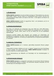 Verlegeanleitung SPEBA DAMTEC-‐standard (Stand Januar 2012)