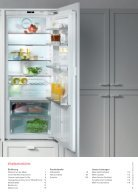 Miele - Kühl-, Gefrier- und Weinschränke - Seite 3