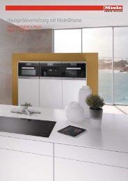 Miele - Vernetzte Küchengeräte mit Miele@home