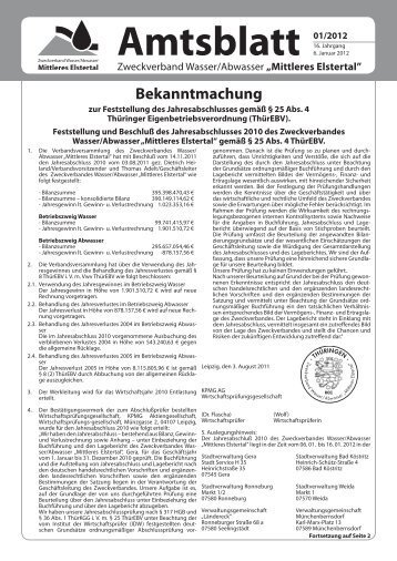 Amtsblatt - OTWA