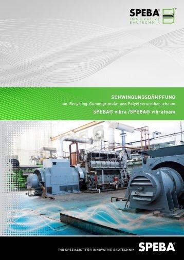 schwingungsdämpfung - SPEBA Bauelemente GmbH