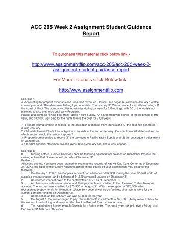 Week 2 assignment mat 205
