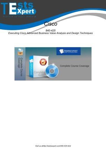 840-425 Exam Practice Software