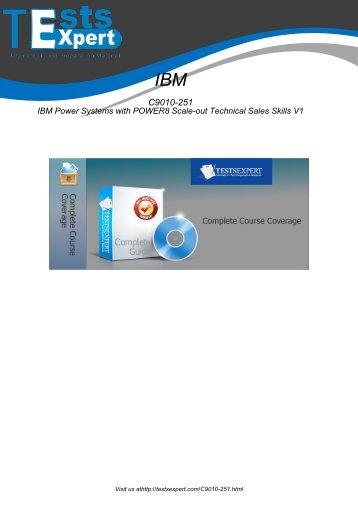 C9010-251 Exam Practice Software