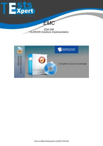 E20-340 Exam Practice Software