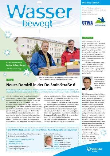 Neues Domizil in der De-Smit-Straße 6 - OTWA