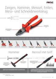 Zangen, Hammer,Meissel,Mess- und Schneidewerkzeug