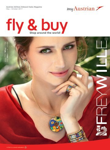 Austrian Airlines Onboard Sales Magazine, May - October 2017