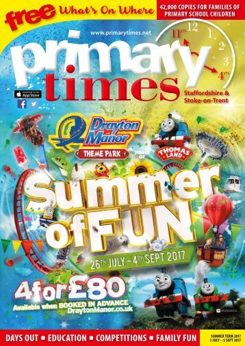Primary Times Staffordshire Summer17