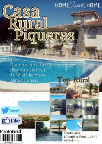 Revista Casa Rural Piqueras