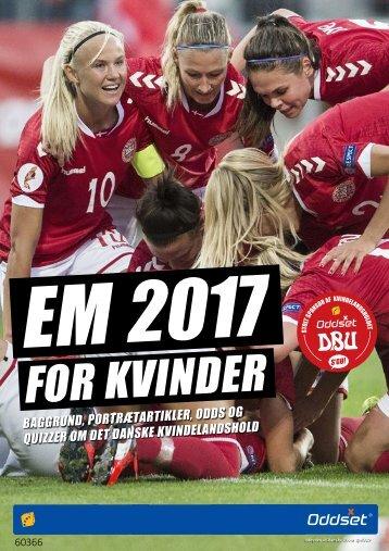 EM Kvinder 2017 Guide
