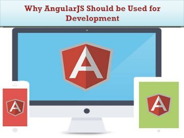 9 Reasons to Choose AngularJS for Web Development