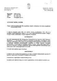 Ügyintéző: Retek György - Magyar Energia Hivatal