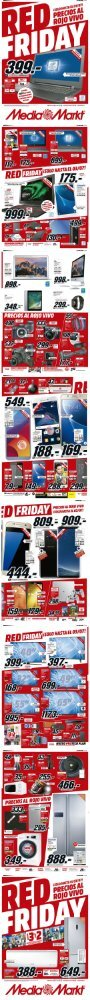 Folleto Media Markt RED FRIDAY hasta 3 de Julio 2017