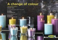 A change of colour - IKEA.com