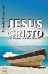 JESUS CRISTO - HOMEM DE ÚNICA RESPOSTA DEGUSTAÇÃO