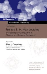 Richard S. H. Mah Lectures - Chemical & Biological Engineering ...