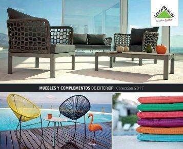Catálogo Leroy Merlin, Muebles y complementos de Exterior 2017