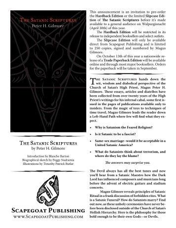 The Satanic Warlock