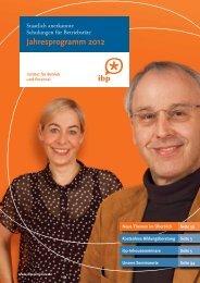 Das aktuelle Seminarpro- gramm hier zum Download - IBP