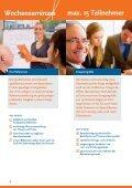 Das aktuelle Seminarpro- gramm hier zum Download - IBP - Seite 6