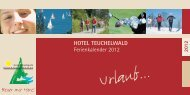 2012 - Hotel Teuchelwald