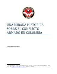 ENSAYO Una mirada historica sobre el conflicto armado en Colombia