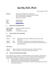 CV Frosch - Palo Alto Medical Foundation