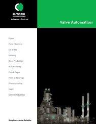 Valve Automation - K-Tork