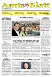 Amtsblatt Nr. 09 vom 05.05.2010 - Stadt Halle, Saale