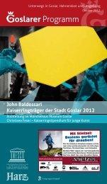 iGoslar marketing gmbh (Tourist-Information) - Herzlich willkommen ...
