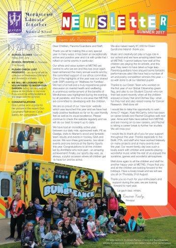 METNS newsletter Summer2017 web