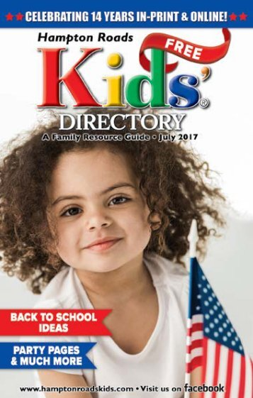 Hampton Roads Kids' Directory: July 2017