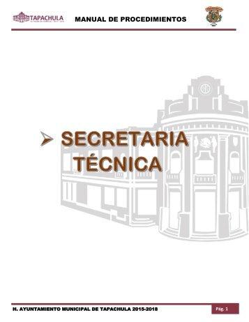 SECRETARIA TECNICA