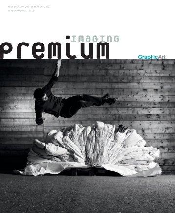 premium imaging 1-2011 | Deutsch - GraphicArt AG