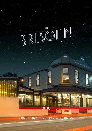 The Bresolin - Booklet