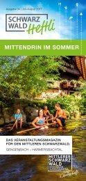 Schwarzwald-Heftli Ausgabe 4: Juli-August 2017