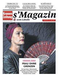 s'Magazin usm Ländle, 2. Juli 2017
