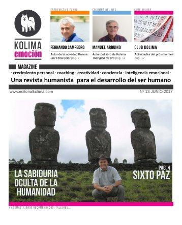 KOLIMA EMOCION Magazine Junio de 2017