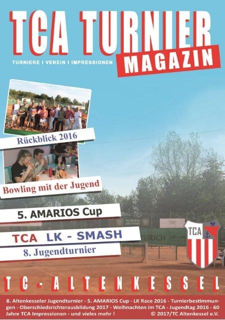 TCA Turnier Magazin