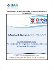 United States Target Drone Market 2017 Industry Trend and Forecast 2022