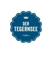 Imagebroschüre Tegernsee