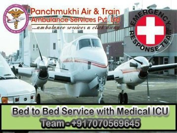 Low-Cost Medical Charter Air Ambulance Services from Jabalpur and Raipur