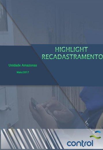 Highlight AM Recadastramento Eletrobras - Maio/2017