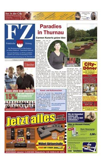 Paradies in Thurnau - E-Paper - Fränkische Zeitung