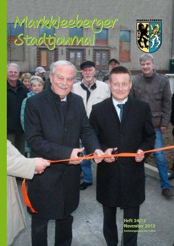 Heft 24/12 November 2012 Heft 24/12 November ... - Druckhaus Borna