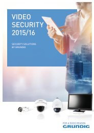GRUNDIG VIDEO SECURITY 2015-16