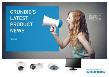 GRUNDIG'S LATEST PRODUCT NEWS BROCHURE