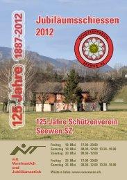 Jubiläumsschiessen 2012 - Gasthaus Kreuz