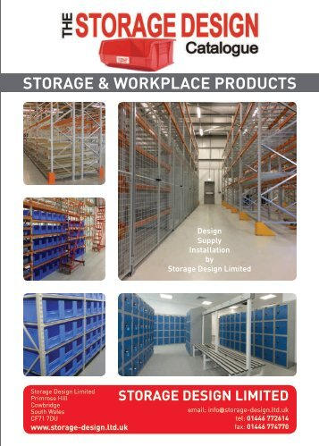 SDL Storage Design Catalogue 2017